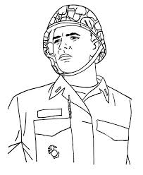 Coloring Pages Of A Soldier At Getdrawingscom Free For Personal