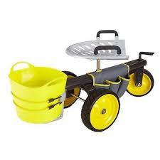 garden scooter seat. Rolling Garden Scooter Gardening Seat Cart Yard Wagon Heavy Duty Work Sitting Whats It Worth