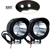 Us 826 19 Offuniversele Waterdichte Automotorfietsfiets Koplamp Led Lettertype Lampenlamp 3 W 12 80 V Spotlight Hoek Ogen Dagrijlicht In