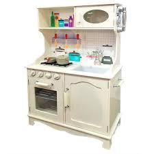 Elegant Cocina Vintage De Madera Infantil En Blanco 7791168   TACHAN   Juguetes  Abracadabra