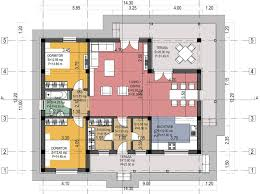 bedroom house plans   optimum choiceThe second plan is also a classic design home  featuring simple lines and spreading on one single story  The house has a total living area of square