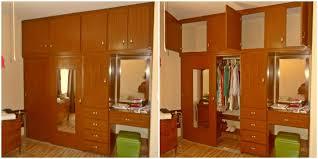 closet pvc con area tocador cajon y espejo para cuartos modernos grandes habitaciones juveniles matrimoniales modelos cemento pequenos