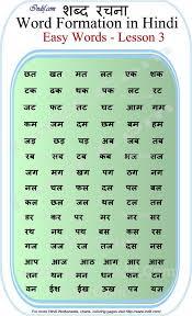 Read Hindi 2 Letter Words Hindi Alphabet Hindi