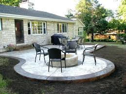 patio designs with fire pit and hot tub. Backyard Patio Design Designs Small Yards Outdoor With Pavers Fire Pit And Hot Tub . C