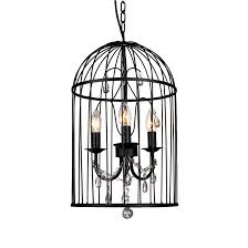 the roxana 3 light birdcage chandelier by house of durante