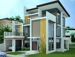 Exterior House Paint Design Simple Ideas