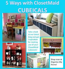 closetmaid cubeicals stack and hang shelf beautiful 3 cube organizer closetmaid cubeicals 9 cube organizer black