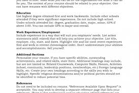 How To Write References On Resume Reference For Resume Format 100 References Resume Autobiography 88