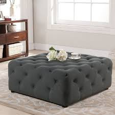 tufted furniture trend. Contemporary Trend Table Black Tufted Ottoman Coffee Furniture Decor Trend Intended For  Attractive Household Designs Regarding And