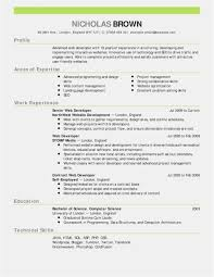 Sample Resume For College Students Luxury College Student Resume
