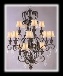 leaf wrought iron chandelier larger image