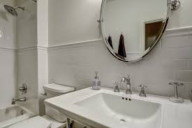 bathroom pivot mirror. Bathroom Pivot Mirror Lovely Bright White Guest With Tilt And Subway Tile