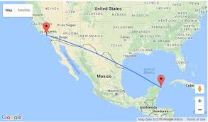 los angeles to cancun, mexico for $154! Map Of Usa And Cancun Mexico Map Of Usa And Cancun Mexico #41 map of us and cancun mexico