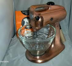 mixer copper 3 c gold kitchenaid harvest kitchen aid antique experience inspiring gol