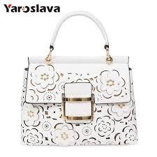 <b>Designer Hollow Out Flowers</b> Bag Women Shoulder Bags Famous ...
