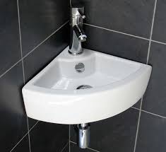 corner bathroom sink design ideas combine with black wall ceramic tile antique corner bathroom sinks