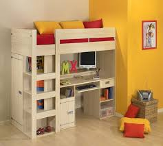 milky standard bunk bed with trundle and storage drawers 42 bunk bed trundle desk bedroom design