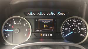 Check Engine Light 2018 Ford F150 2017 Ford F 150 Oil Change Reset