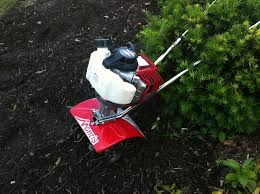 a few years back i needed to till my garden i went to and bought a bolens mini tiller and the thing ed it was hard to start and had no