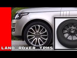 Land Rover Tire Pressure Monitoring System Tpms Youtube