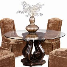 15 inch round gl table top elegant dining room modern decorative