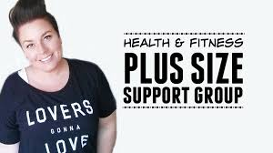 weightloss group plus size health fitness support group weightloss youtube