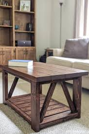 homemade coffee table plans you can diy