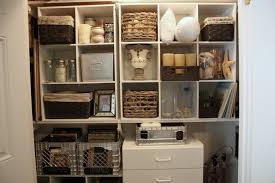 Creative Closet Solutions Organizing A Junk Closet With Cube Storage Units