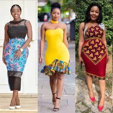 Best Kitenge Dress Designs Best Kitenge Short Dress Designs