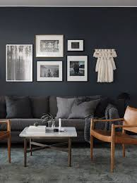 living room colors grey couch. Extraordinary Best Colors For Living Room Neutral Interior Paint Dark Grey Wall Color Couch Brown Armchairs White Square Table M