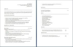 Resume Personal Attributes Templates Best of Personal Trainer Resumes Best Of Fitness Trainer Resume Templates
