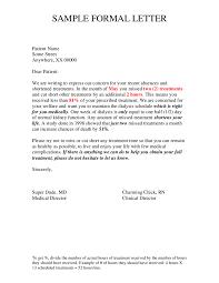 Formal Letter Soydt Co