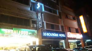 33 Boutique Hotel Acrylic 3d Led Light 33 Boutique Hotel Hotel Stainless Steel