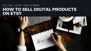 how to sell digital s on etsy sell and license your artwork
