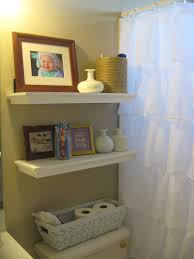 Small Bathroom Storage Ideas Over Toilet Brown Laminated Wooden