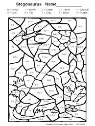 Color By Number Worksheets Addition Coloring Pages Add On Color By ...