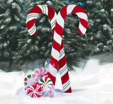 Candy Cane Yard Decorations Giant Yard Candies Woodcraft Pattern These giant Christmas mints 18