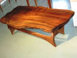 Black Walnut Coffee Table Hand Made Natural Edge Black Walnut Coffee Table By Rockledge