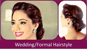 You Tube Hair Style fomo weddingformal hairstyle hindi youtube 1353 by wearticles.com