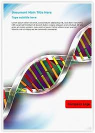 Microsoft Word Presentation Template Helix Dna Strand Ms Word Template Is One Of The Best Ms Word