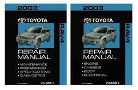 Toyota RAV4 Repair Manual | eBay