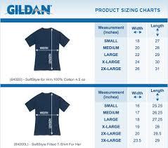 Gildan Size Chart Carry On London 2019