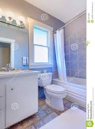 Bathroom White Cabinets Blue Bathroom With White Cabinets With Stone Tiles And Blue Tiles