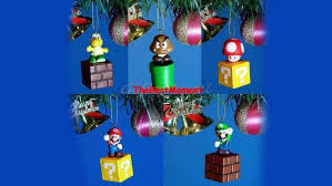 NINTENDO ICE MARIO CHRISTMAS TREE ORNAMENT VINTAGE SUPER MARIO Super Mario Christmas Tree