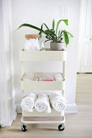 Organizing your bathroom supplies is easy!