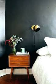 black bed with white furniture. Black Bedroom Walls Sophisticated White Bed With Furniture
