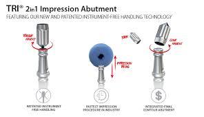 Abutment Definition Tri 2in1 Impression Abutment Tri Dental Implants