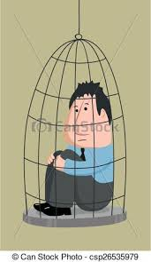 Image result for man in cage