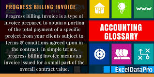 simple billing invoice what is progress billing invoice what are its benefits exceldatapro