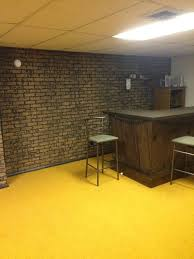 painting basement wallsWhat to do with the basement wallsbrick paneling